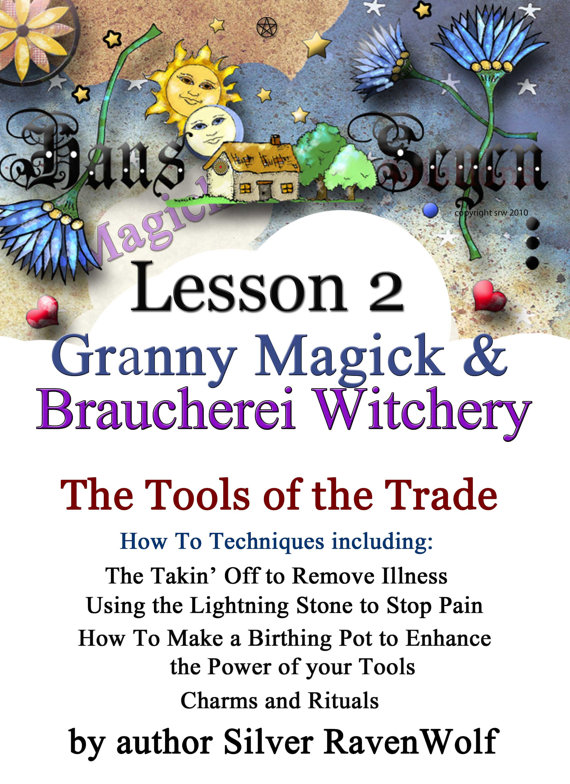 Lesson Two Granny Magick Braucherei Witchery The Art of Whisper Magick Digital Download by CrowCrossroads