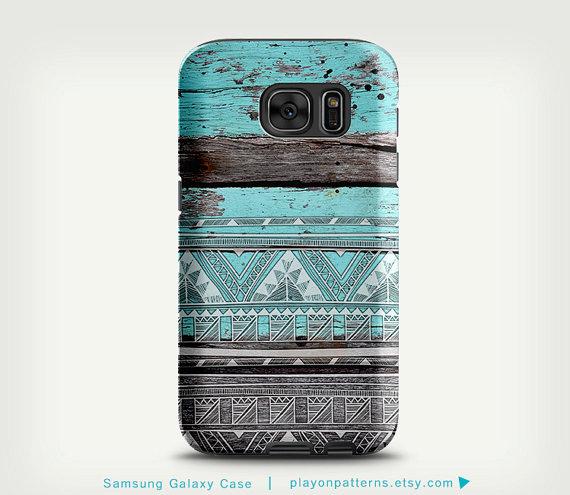 Samsung Galaxy S7 Edge Case, Galaxy S6 Case, Samsung Galaxy Cases, Note 5 Case, Galaxy S7 Case, Galaxy S5 Case, Galaxy S4 Case, Aztec by playonpatterns