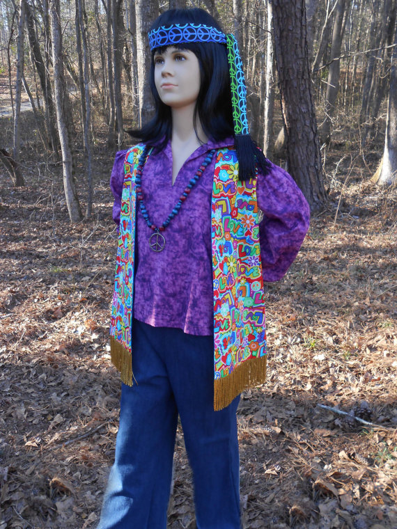 D119 Ready To Ship Child's Groovy Hippie Shirt by fwcreations4All