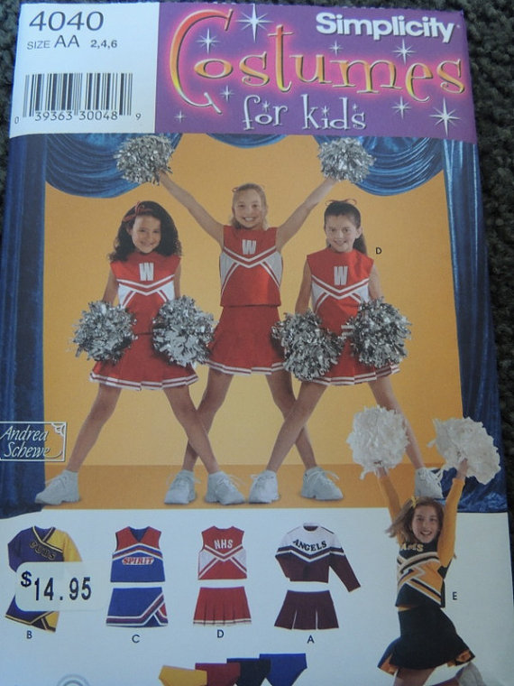 Simplicity 4040 Costumes for Kids in sizes 8-10-12 by sayitisntsew
