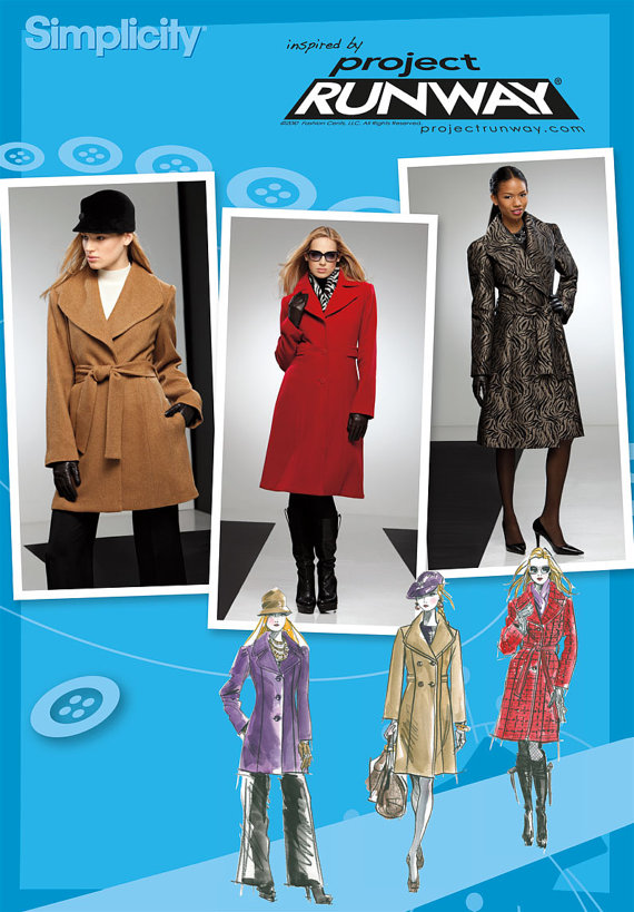 Misses' Classic Coats in Two Lengths – Simplicity 2311 – Out of Print Sewing Pattern, Sizes: 4, 6, 8, 10, 12 by ohsewtennessee