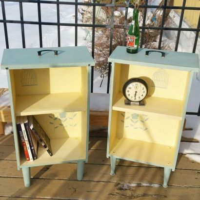 upcycled-drawers-to-side-tables-painted-furniture-repurposing-upcycling
