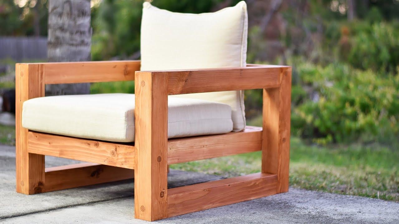 Outdoor Modern Chair  DIY Creators