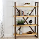 Diy Rustic Bookshelf And Storage Diy Creators
