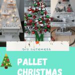 Diy Pallet Christmas Tree Ideas Diy Cuteness