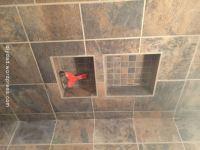 tile shower pan | DIY Dad