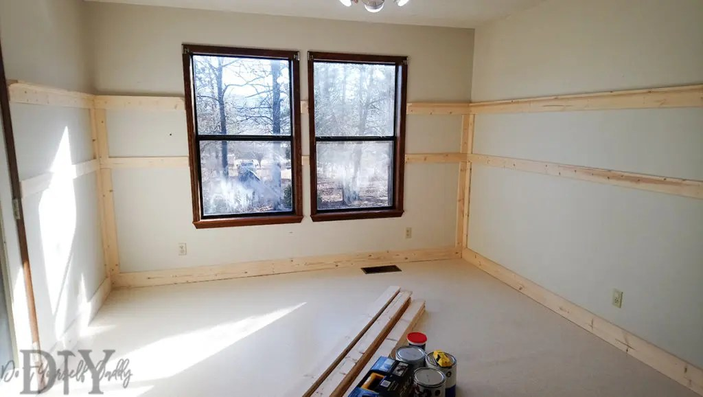 Board and Batten Wainscoting
