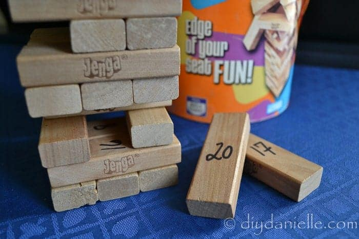 DIY Interactive Jenga Game