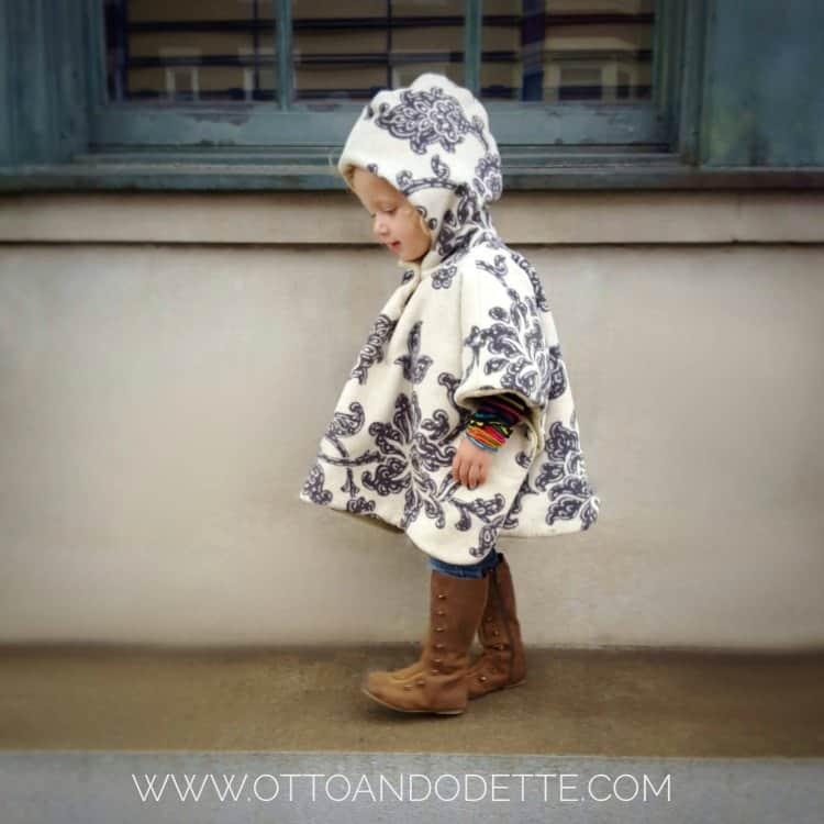 Buy this poncho on Etsy from Otto and Odette