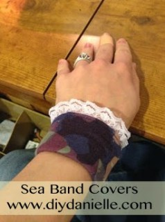 How to Make Your Own Covers for Sea Bands