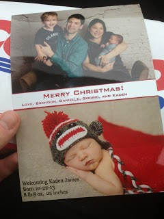 DIY Christmas Photo Cards