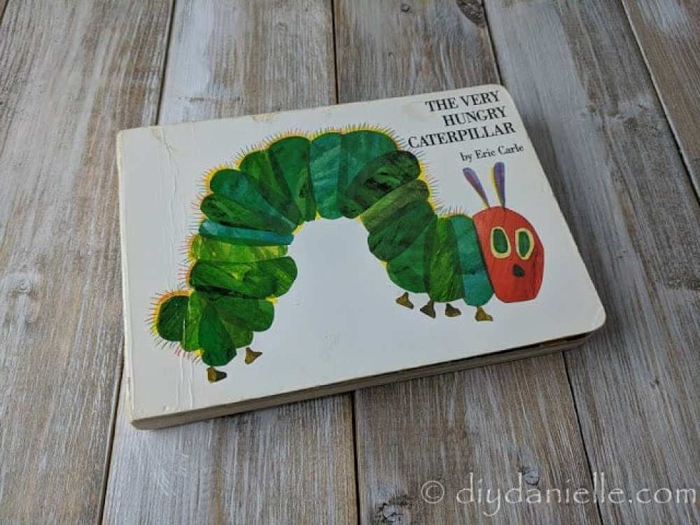 The Very Hungry Caterpillar is a favorite book for my children.