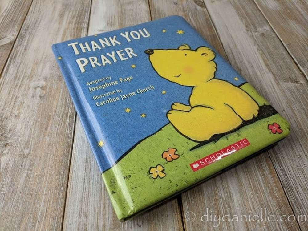 Thank you Prayer is a good book for young children.
