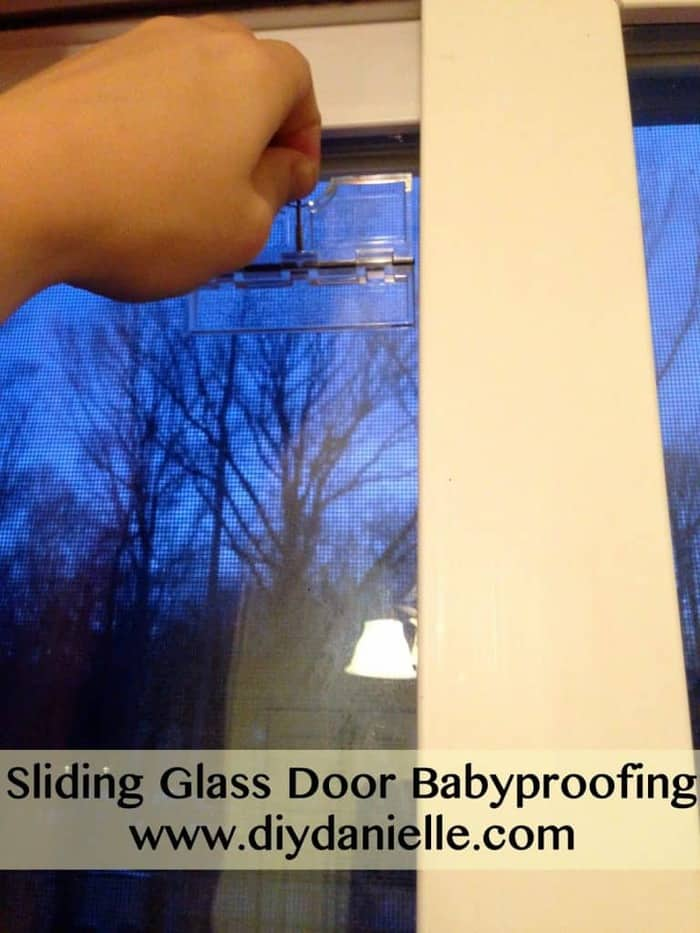 Sliding glass door baby proofing diy danielle review of an item we used to baby proof our sliding glass door planetlyrics Choice Image