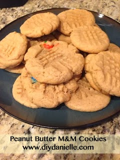 Allergy Testing and Peanut Butter M&M Cookies