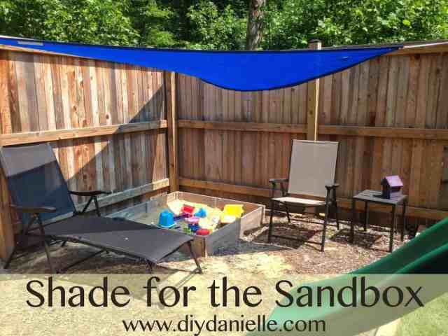 An Easy Way to Shade a Sandbox