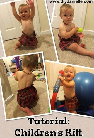 Tutorial: Children's Kilt