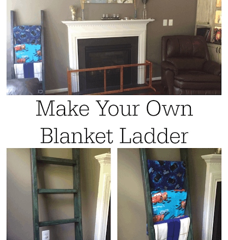 How to Make Your Own Blanket Ladder