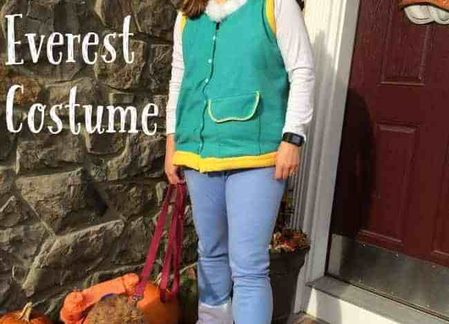 DIY Everest Halloween Costume {from Paw Patrol}