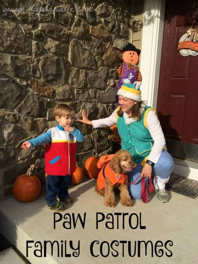 Paw Patrol Family Halloween Costumes