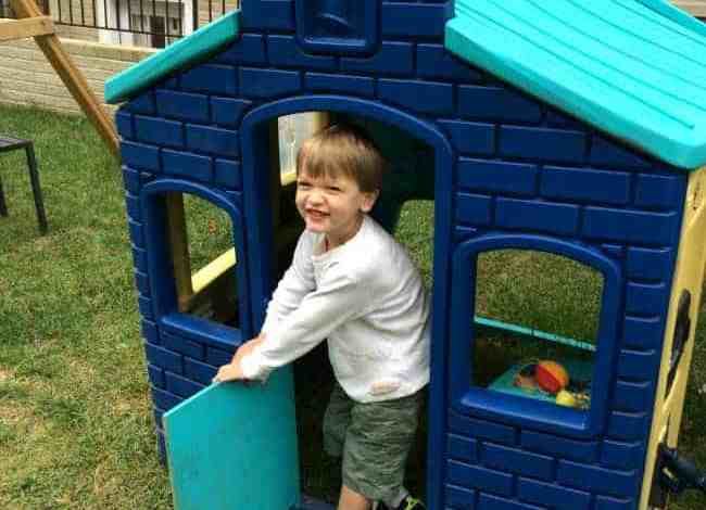 How to Make a Spare Door for a Plastic Playhouse
