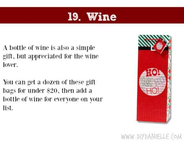 Holiday Gift Idea for Adults: Wine