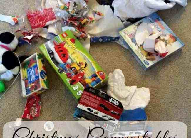 Christmas Compostables and Recyclables