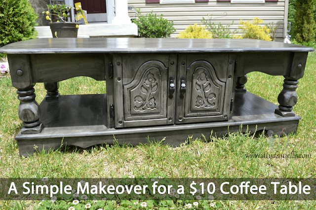 Coffee table makeover.