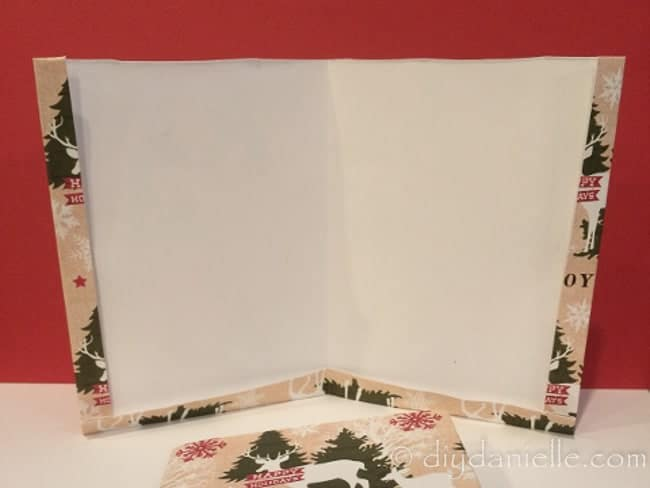 Paper envelopes to gift soap in. Made from scrapbook paper.