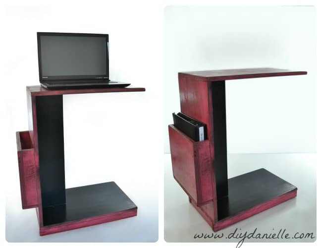 DIY Easy Rolling Laptop Desk for Working at Your Couch ...