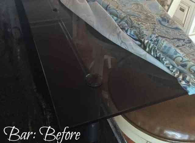 How to Clean a Glass Table or Bar and KEEP it clean!