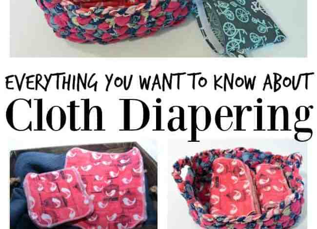 Curious about cloth diapering? Check this out and enter to win!