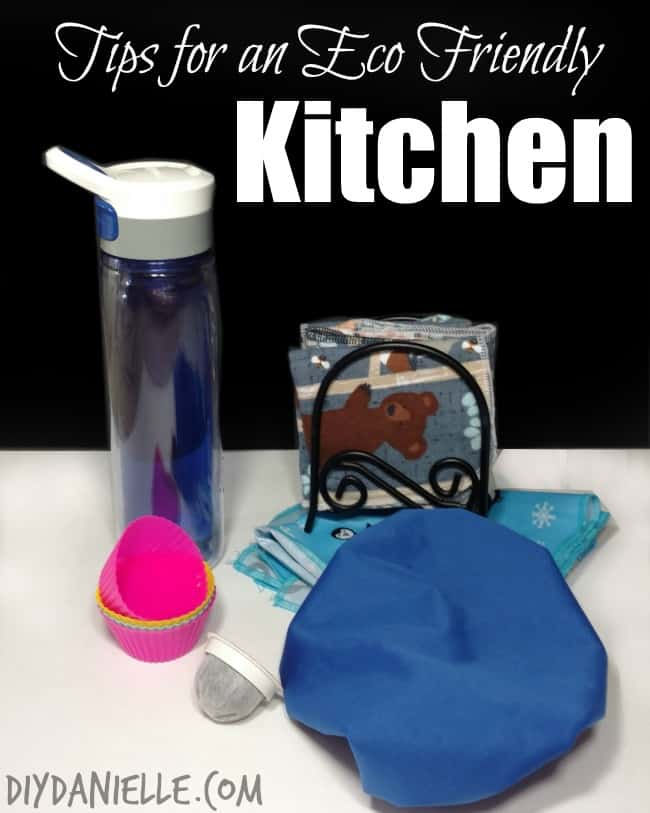 Ideas for items and habits that make for a greener kitchen.