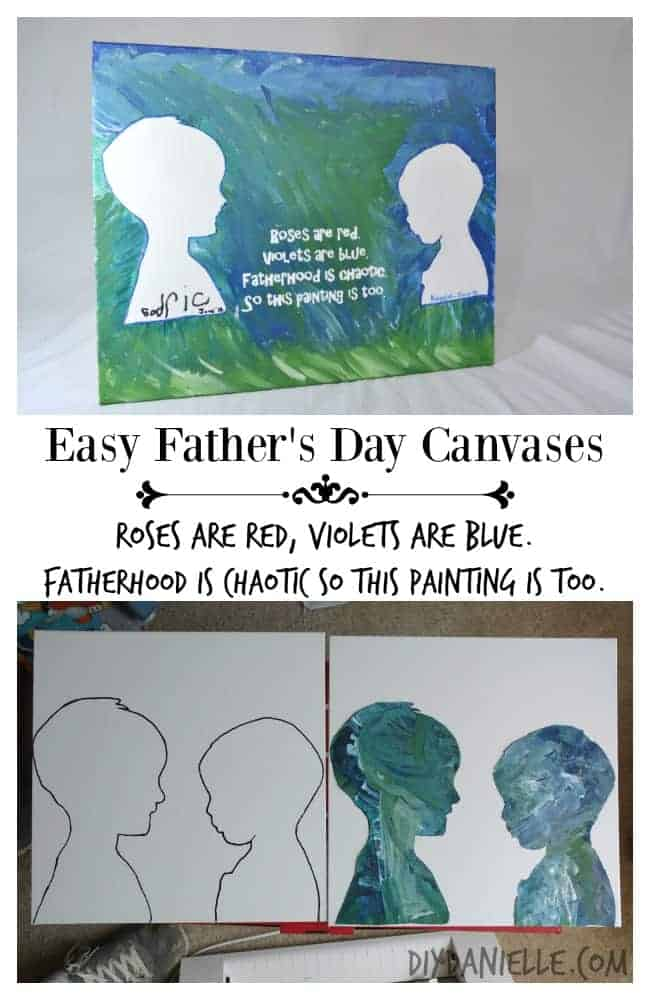How to make and reuse silhouettes of your children with your Cameo.