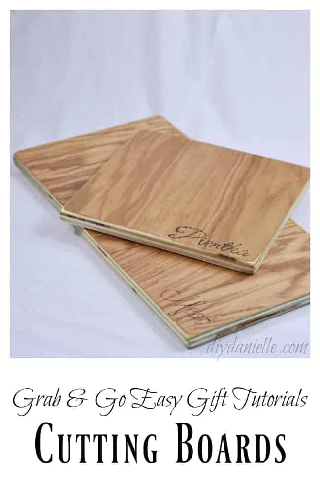 How to make a cutting board diy danielle for Diy cutting board storage