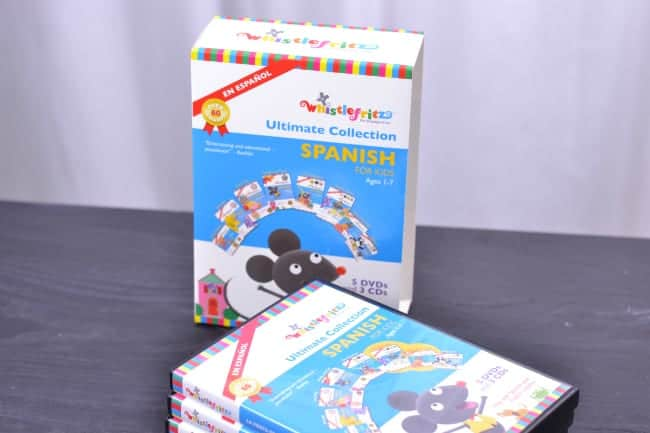 Whistlefritz Ultimate Spanish for Kids Ages 1-7