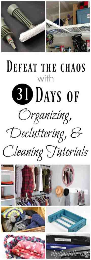 Tips for Organizing and Cleaning Your Home and Life: Free Printables, DIY Projects, and More
