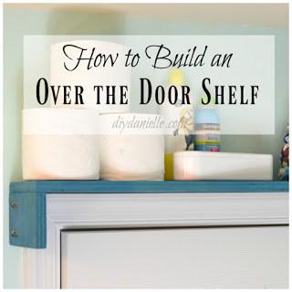 DIY Door Shelf to Keep Medicine Away from Kids