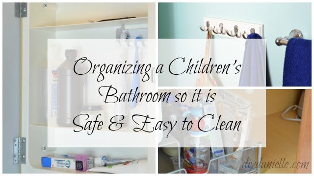 Tips to Organize a Children's Bathroom