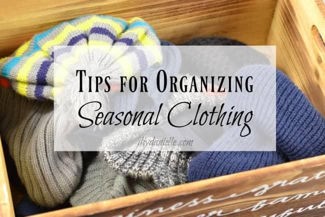 Packing Up Seasonal Clothes: Organization