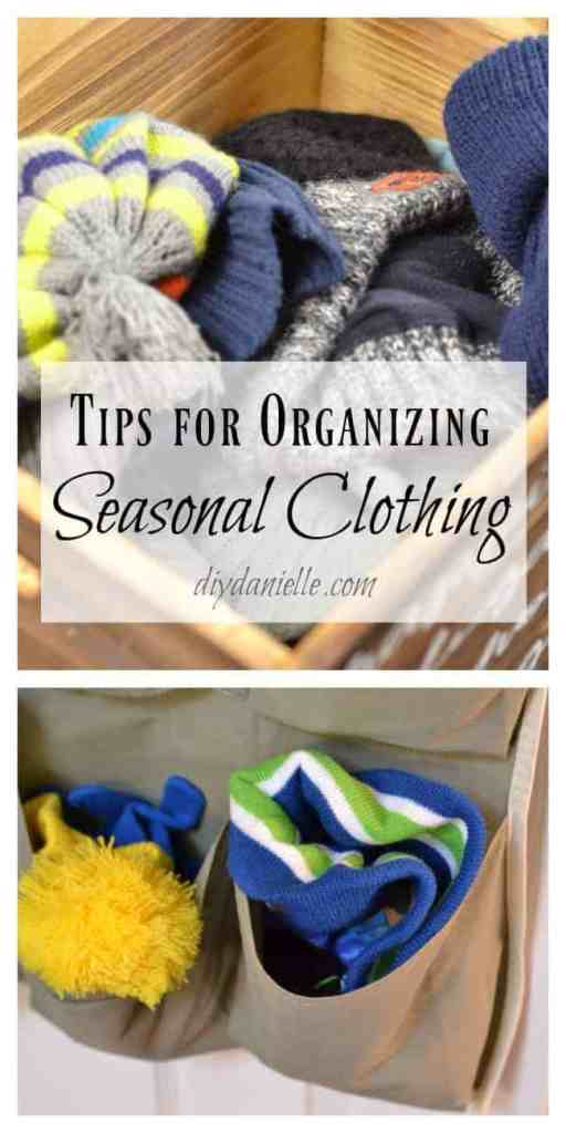 Organizing Seasonal Clothes