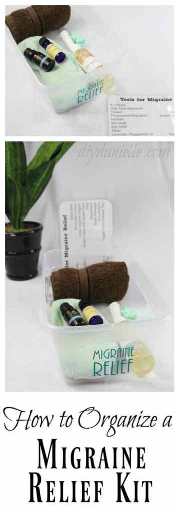 DIY Migraine Relief Kit