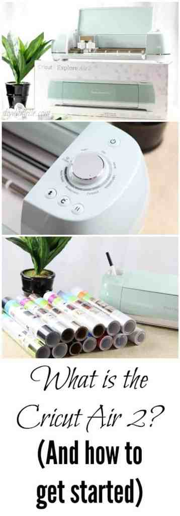 The Cricut Air 2 is easy to use, versatile, fun, and fast. Learn more about this machine and how to use it.