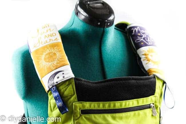 How to Sew Drool Pads for an Ergobaby Carrier