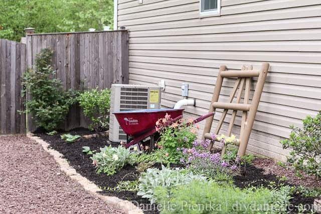 How to Plant a Garden and Install a Path to Help with Water Drainage