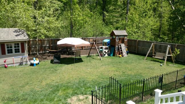 Tick prevention via landscaping.