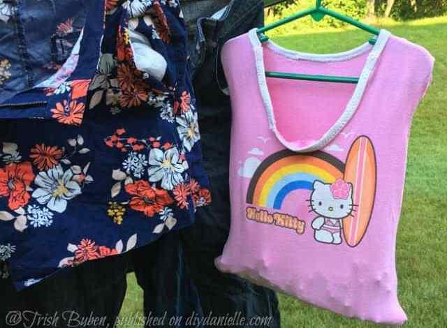 How to Make a Clothespin Bag
