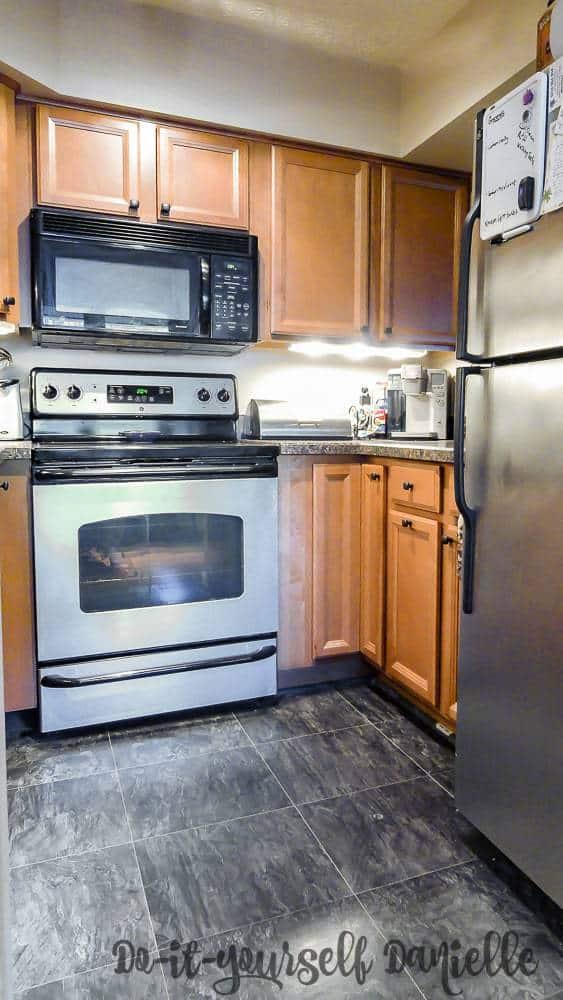 Renovated Small Condo Kitchen