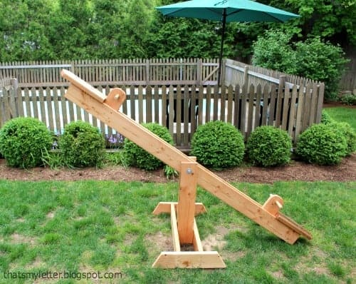 See Saw for an Outdoor Kids Space