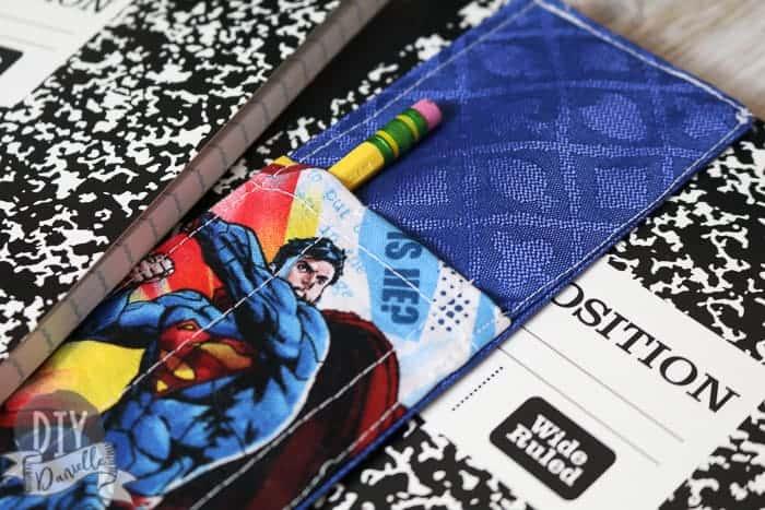 Sewing tutorial: Easy journal bookmark